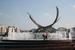 В 2002 г. мэр Брюсселя подарил Москве скульптуру Оливье Стребеля «Похищение Европы». Абстрактная композиция высотой 11 м изображает сцену из мифологии Древней Греции. Скульптор Юрий Платонов установил скульптуру в центре новой площади Европы рядом с Киевским вокзалом, а вокруг неё расположил фонтан