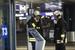 Пожарные в аэропорту Фьюмичино