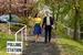 Лидер либеральных демократов Ник Клегг с женой перед голосованием в Шеффилде