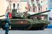 Танк Т-14  во время военного парада на Красной площади