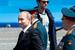 Президент России Владимир Путин после военного парада на Красной площади