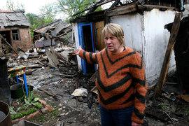 По словам представителей ДНР, Горловка снова подверглась обстрелу украинской артиллерии