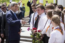 Госсекретарь США Джон Керри прибыл в Россию впервые почти за два года