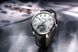 Часы Ulysse Anchor Tourbillon оснащены анкерным спуском принципиально новой конструкции
