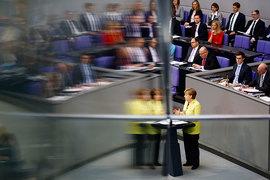 Обращение к бундестагу канцлера Германии Ангелы Меркель