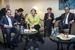 Переговоры Греции, Франции и Германии в рамках саммита ЕС в Риге о доступе Греции к дополнительным кредитным средствам закончились без существенного прогресса (на фото: слева направо премьер-министр Греции Алексис Ципрас, Ангела Меркель и президент Франции Франсуа Олланд)