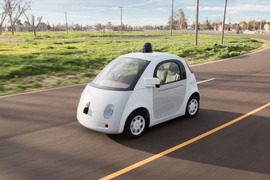Google начнет испытания прототипа своего робомобиля на дорогах города Маунтин-Вью в Калифорнии летом 2015 г.