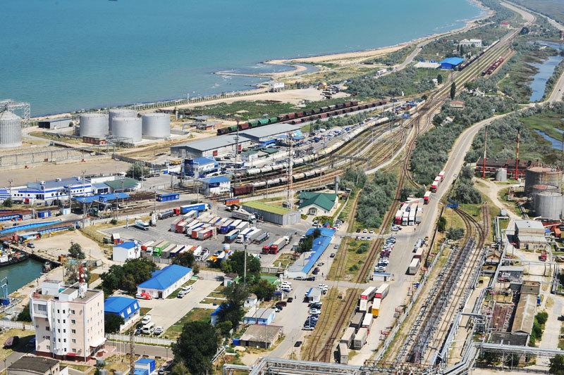 Порт Кавказ в Темрюкском районе в прошлом году увеличил перевалку почти на 30%