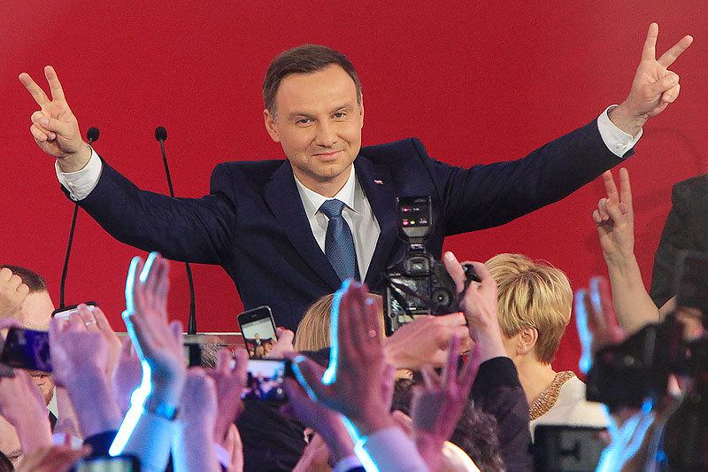 Новым президентом Польши избран Анджей Дуда