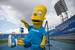 С создателями мультсериала «Симпсоны» – студией 20th Centure Fox – «сине-бело-голубые» сотрудничают с осени 2013 г. В марте 2014 г. коммерческий директор «Зенита» Дмитрий Манкин рассказал о возможности появления игроков питерского клуба в мультфильме. А Барт Симпсон вместе с еще одним талисманом «сине-белых» – синегривым львом – должен развлекать фанатов на играх с участием «Зенита»