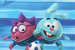 В октябре 2013 г. «Зенит» заключил трехлетний контракт с агентством «Мармелад медиа» по проекту «Смешарики и «Зенит»: теперь вместе». Символика клуба и футбол появились в мультсериале «Смешарики». Товары в стиле «Зенита», плюшевые игрушки, канцтовары, сладости и одежда выпускаются с символикой обоих брендов
