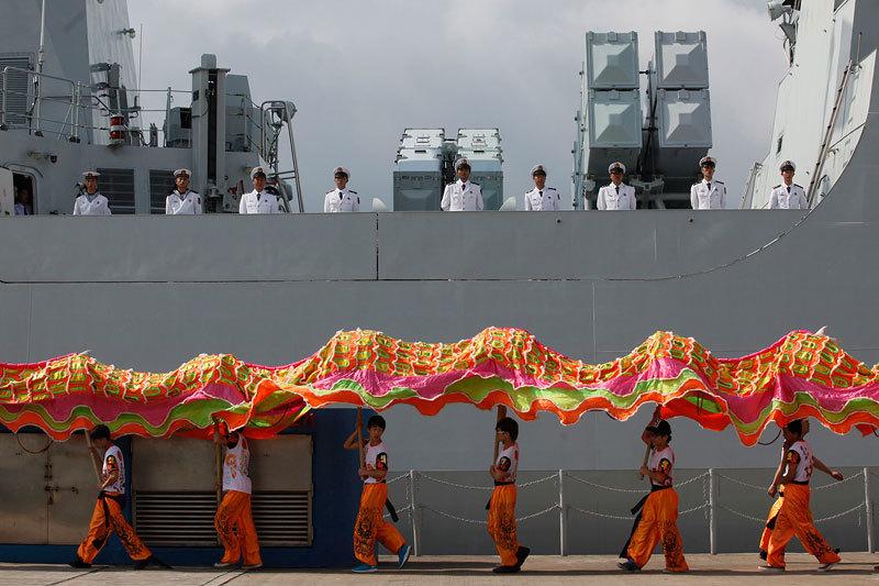 В наступившем веке китайские военно-морские силы добились большого прогресса