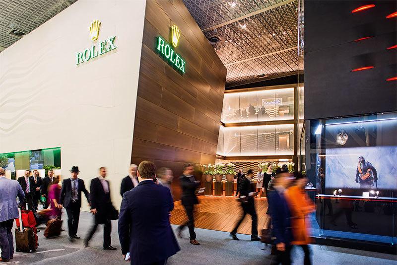 Павильон Rolex на Baselworld 2015