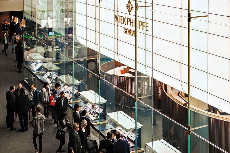 Павильон Patek Philippe на Baselworld 2015