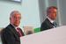 Годовое собрание акционеров открыл председатель наблюдательного совета Сбербанка Сергей Игнатьев (на фото слева)