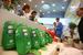 В этом году Сбербанк впервые открыл мини-магазин со своей сувенирной продукцией и книгами