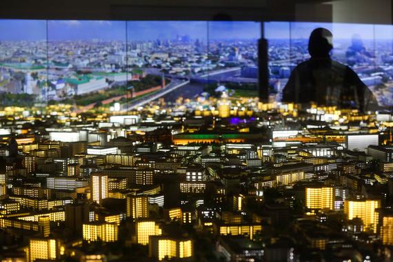 normal 1hg9 Обновленный макет Москвы показали на ВДНХ