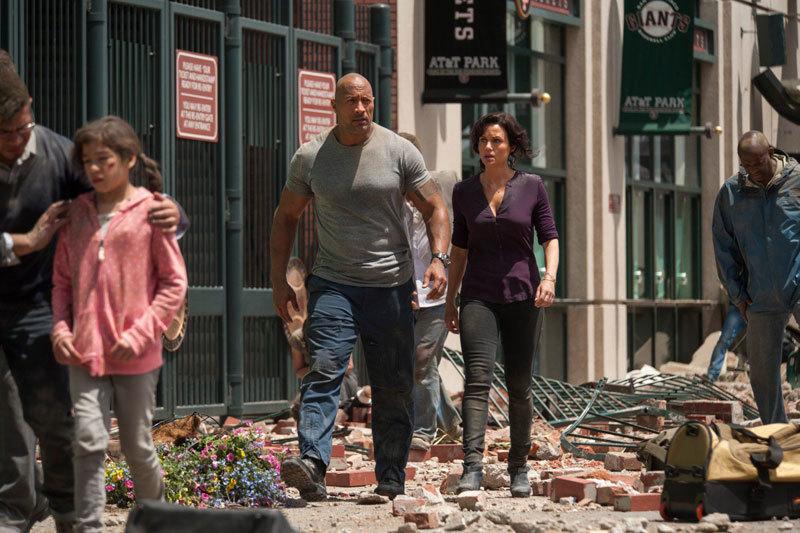 За первый уикенд в Северной Америке картина «Разлом Сан-Андреас» собрала $53 млн