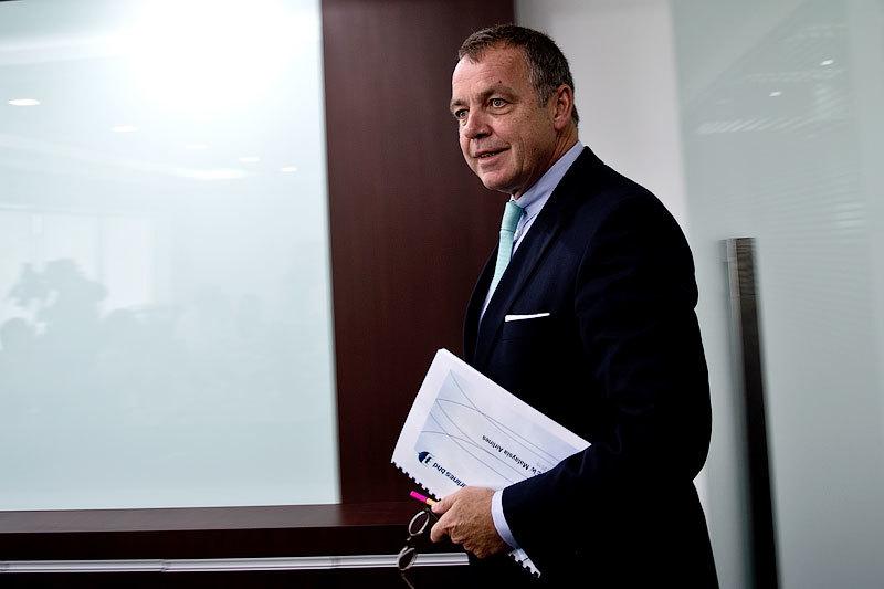 Гендиректор Malaysia Airlines Кристофер Мюллер