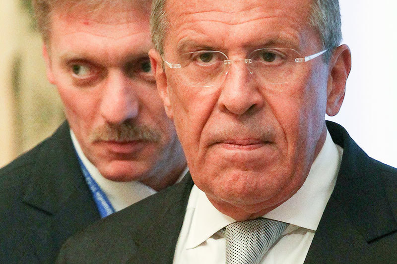 Дмитрий Песков и Сергей Лавров прокомментировали скандал с ЕС