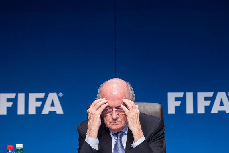 Йозеф Блаттер на пресс-конференции в Цюрихе во вторник объявил о своей отставке c поста президента FIFA
