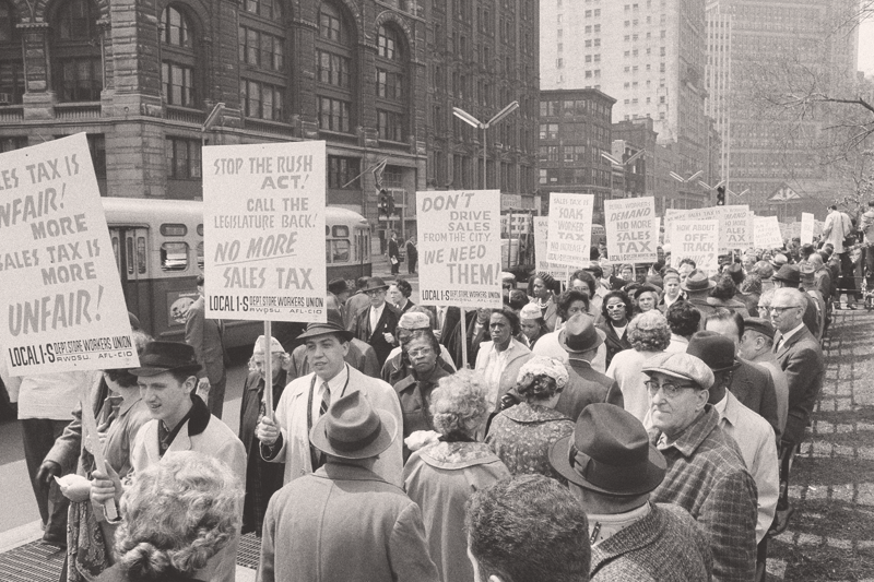 Снижение роли профсоюзов – одна из причин того, что неравенство доходов перестало быть важным пунктом политической повестки дня в развитых странах