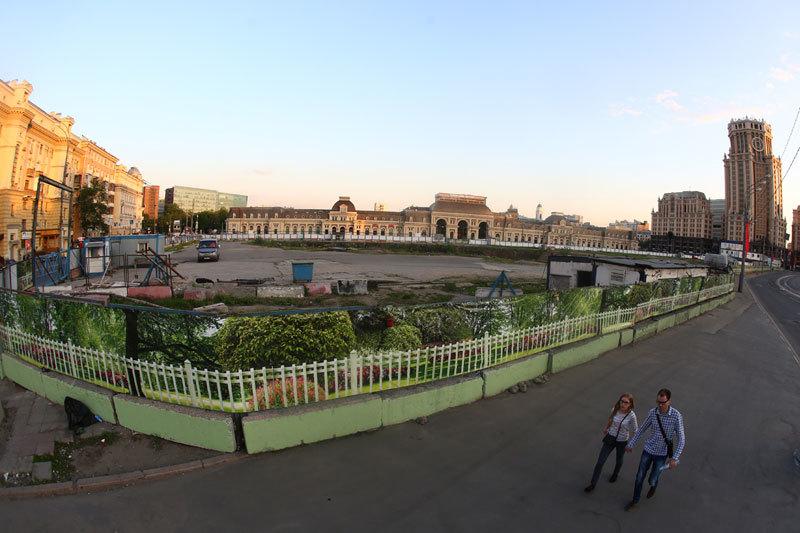 Напротив Павелецкого вокзала «Евразия» хотела строить торгово-развлекательный комплекс