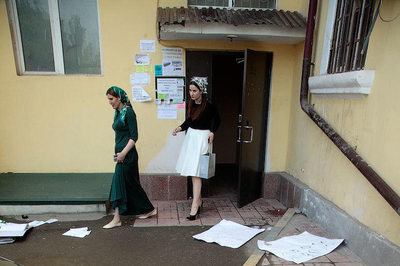 Офис Комитета против пыток в Грозном