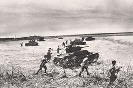 В 1943 г. Красная армия быстро оправилась от серии неудач в конце зимы