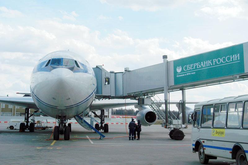 Прибыль Сбербанка уходит в резервы из-за того, что авиакомпании плохо обслуживают долги
