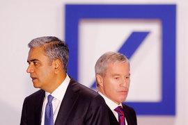 Согендиректора Deutsche Bank Аншу Джейн и Юрген Фитшен досрочно складывают полномочия