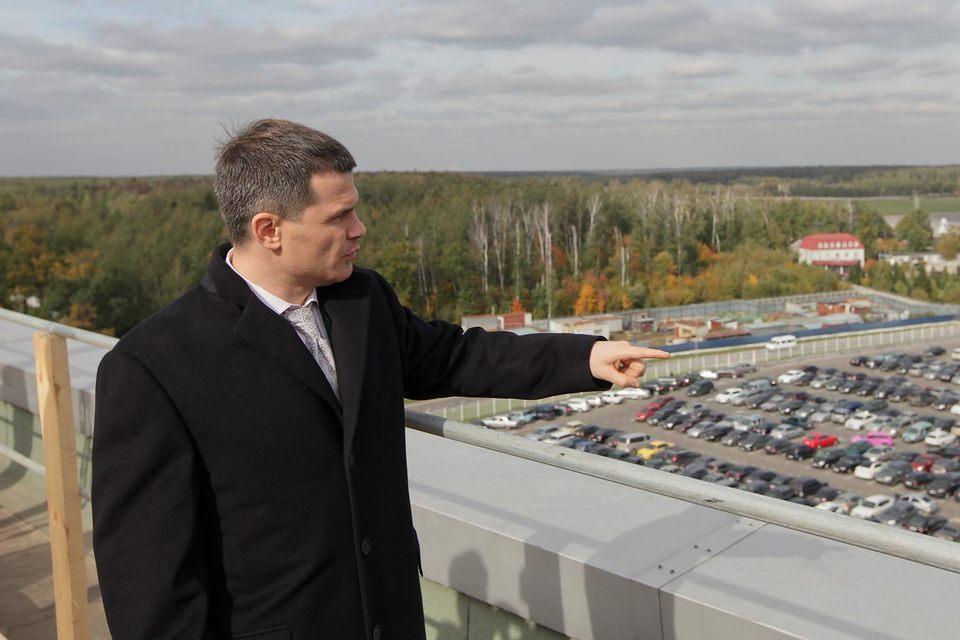 Бизнесмен Дмитрий Каменщик
