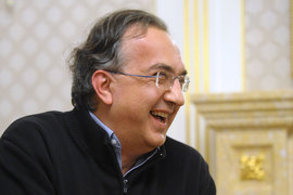 Гендиректор Fiat Chrysler Серджио Маркионне