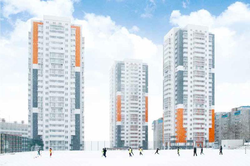 Участников Универсиады поселят в 17-этажных домах
