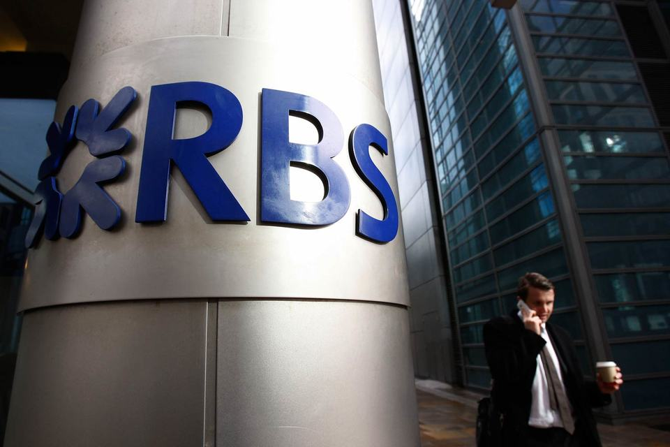 Доля государства в капитале RBS составляет 79%