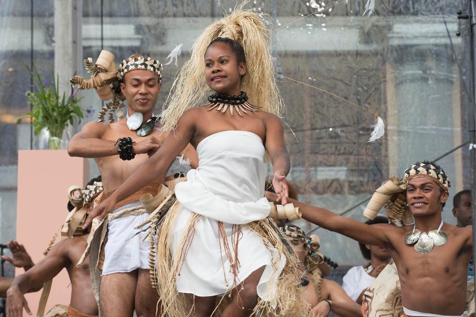 Танцоры из Океании – желанные гости в Бергене