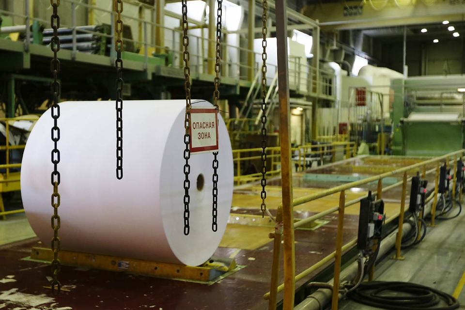 За последний месяц мелованная бумага российского производства подешевела на 20%