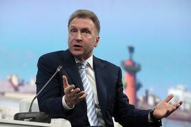 Первый зампред правительства Игорь Шувалов
