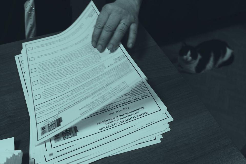 Вещь недели: Избирательный бюллетень