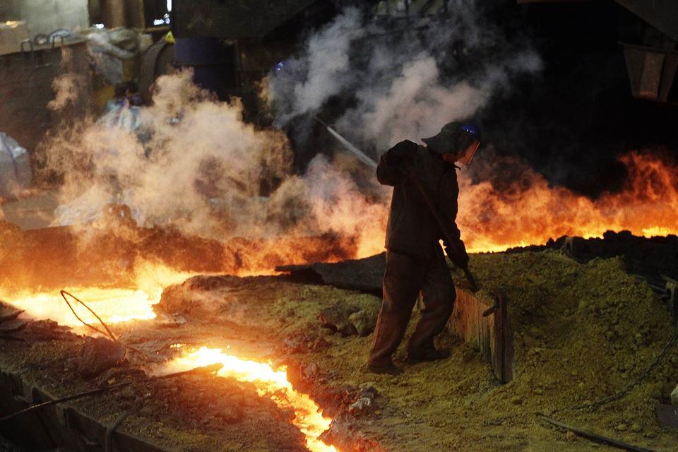 Из-за девальвации российским металлургам удалось увеличить прибыль в I квартале