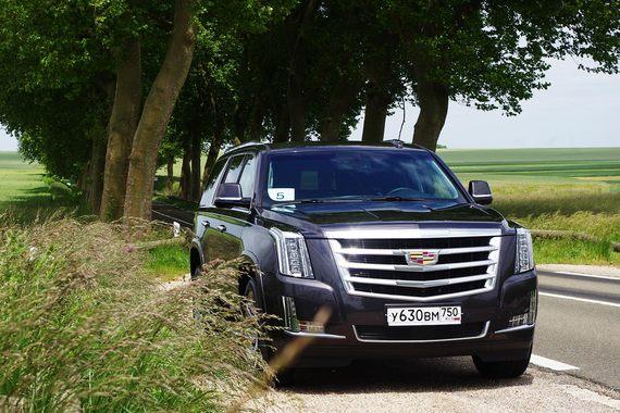 Цены на новый Cadillac Escalade в России начнутся с 3,5 млн рублей 82