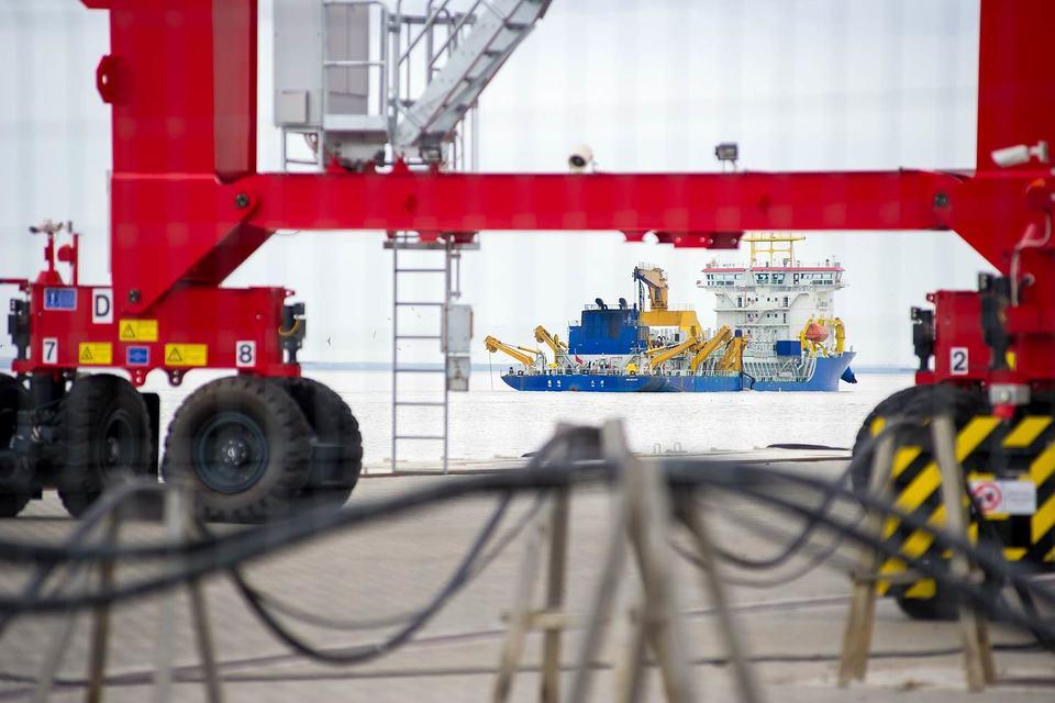 Первая очередь порта обойдется  в 23,5 млрд руб.