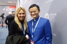 """Корреспондент """"Ведомостей"""" спросил Джека Ма о его отношении к бизнесу в России"""