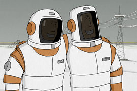Фильм Константина Бронзита – о космосе и мужчинах