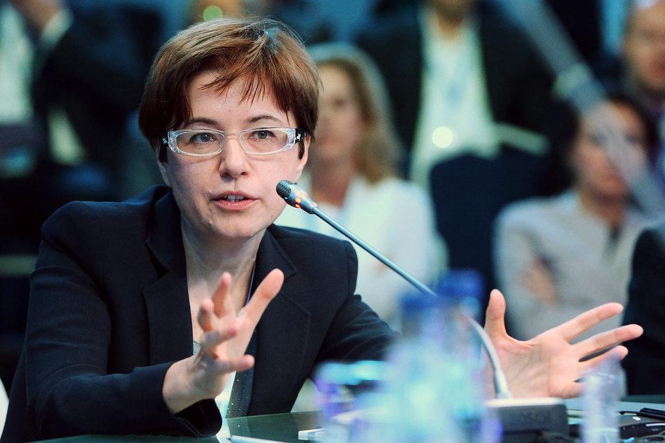 Первый заместитель председателя Центрального банка России Ксения Юдаева