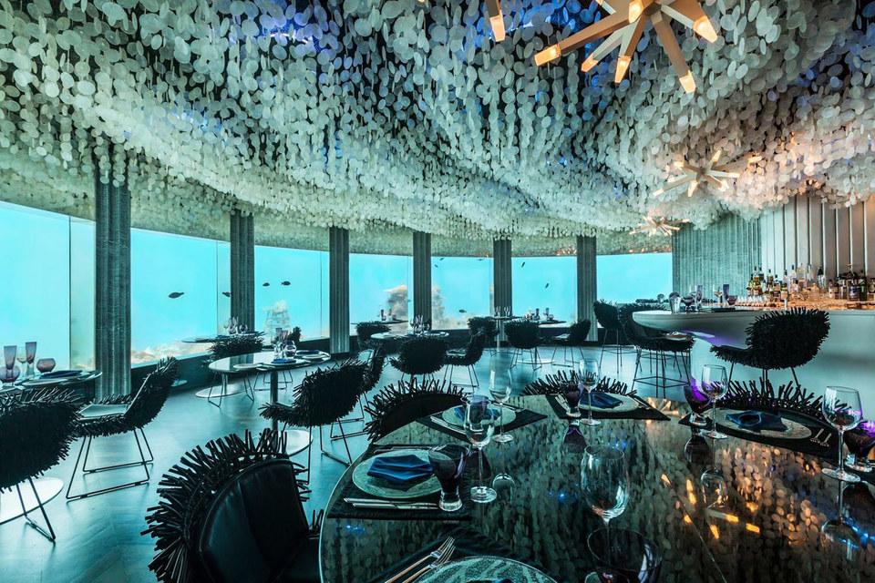 Самое главное в клубе-ресторане «Subsix» - подводный мир Индийского океана