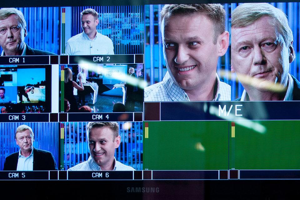 Дебаты с участием Алексея Навального и Анатолия Чубайса