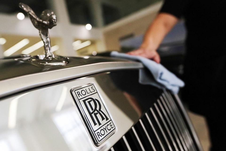 Импорт Rolls-Royce за январь – май 2015 г. вырос на 66% год к году