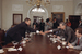 Евгений Примаков и Джордж Буш (слева) во время встречи в Белом доме в мае 1991 г. На встрече обсуждалась помощь США экономике СССР