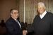 С 1998 по 1999 г. - после августовского дефолта 1998 г. по представлению первого президента России Бориса Ельцина (на фото справа) Примаков стал председателем правительства России